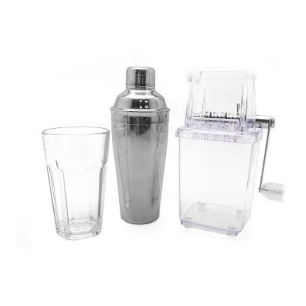 Cocktail Shaker Basic Silver Plated Tools