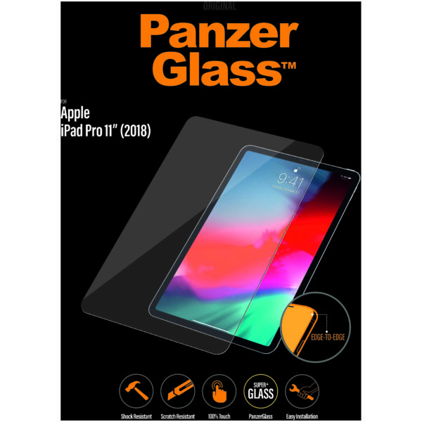 "PanzerGlass 2655 Screen Protector For Apple iPad 11"" 2018 - Clear"