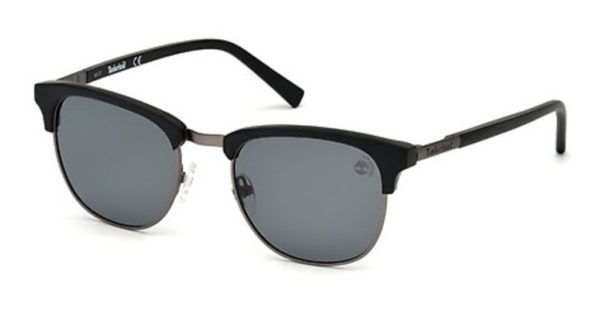 Timberland Men's Sunglasses Matte Black/ Metal