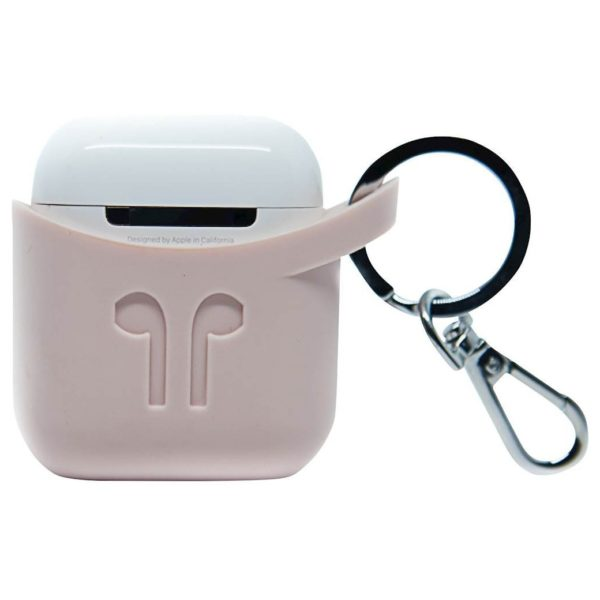 Podpocket Silicone Case For Apple Airpods -Ash Pink