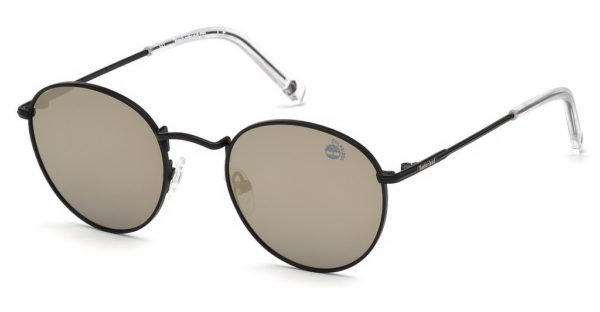 Timberland Unisex Sunglasses Matte Black/Green