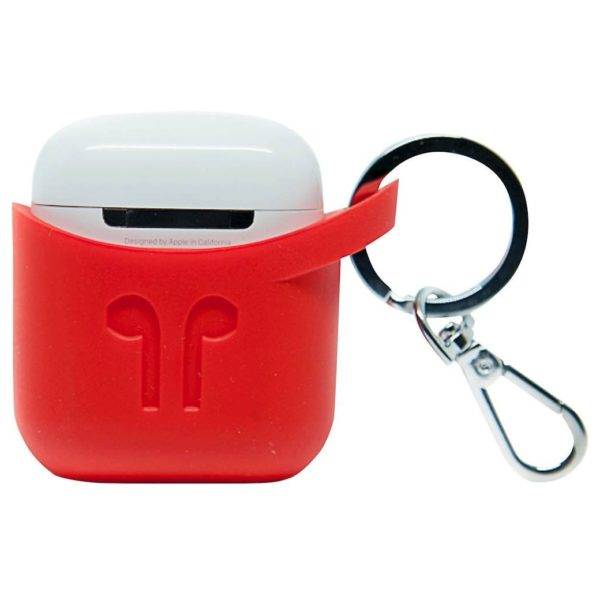 Podpocket Silicone Case For Apple Airpods - Blazing Red