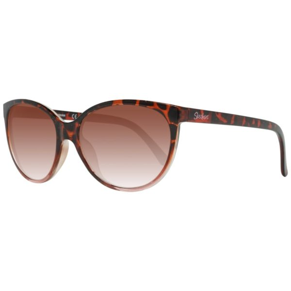 Skechers SE600452F55 Dark Havana/Brown Women Sunglasses