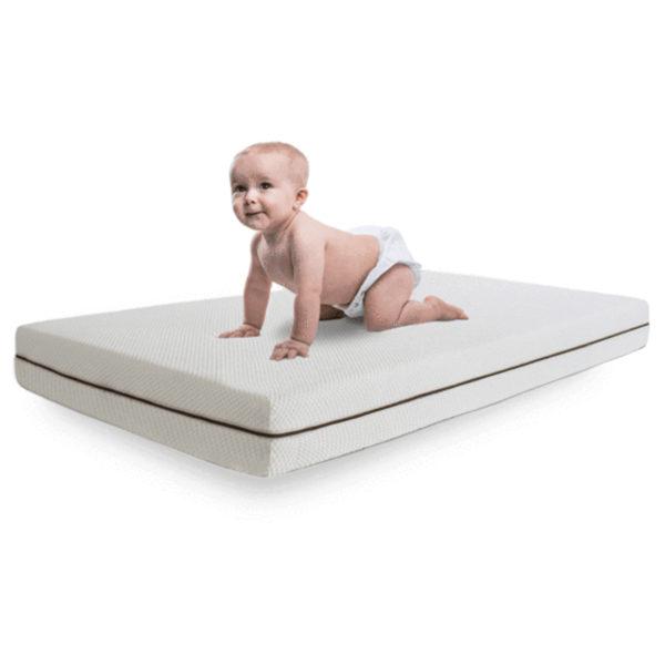 Buy Baby Mattress White 70x132x12cm - Price ...