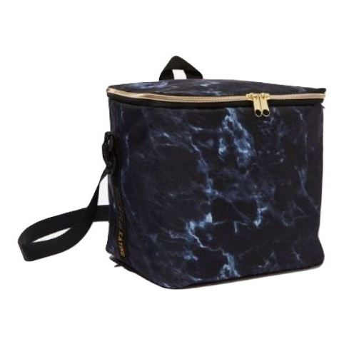 TYPO Tall Cooler Bag Black Marble