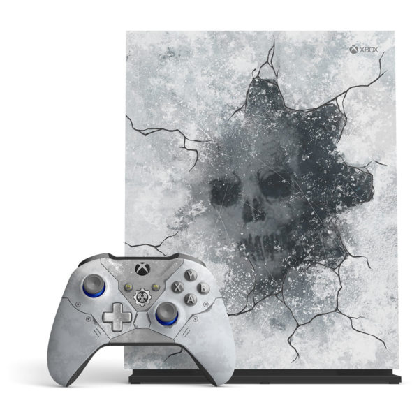Microsoft Xbox One X Gaming Console 1TB Limited Edition With Gears 5 Game