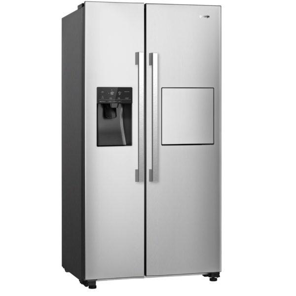 Gorenje Side By Side Refrigerator 605 Litres NRS9181VXB