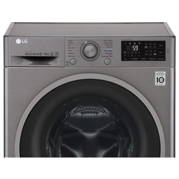 LG 6kg Washer & 4kg Dryer F2J6NMP8S