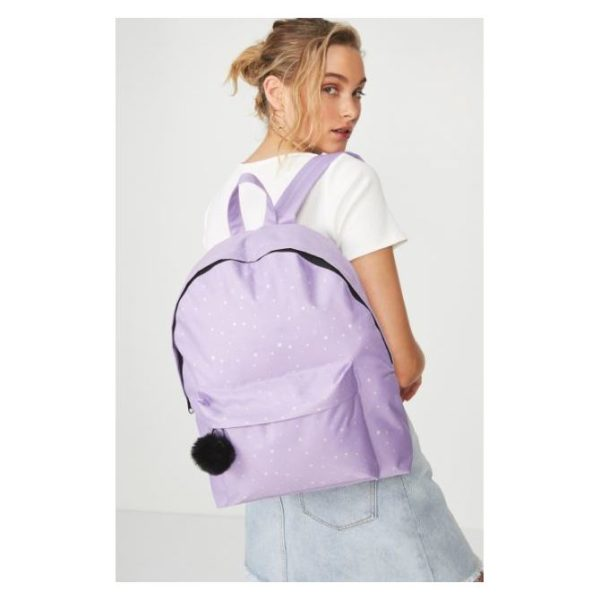 TYPO Gwp Backpack Lilac Stars