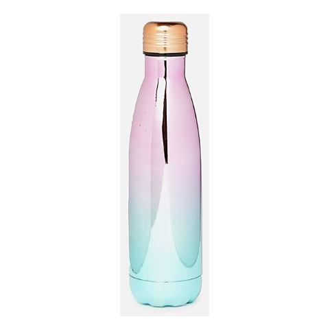 TYPO Metal Drink Bottle Pastel Ombre Electroplate