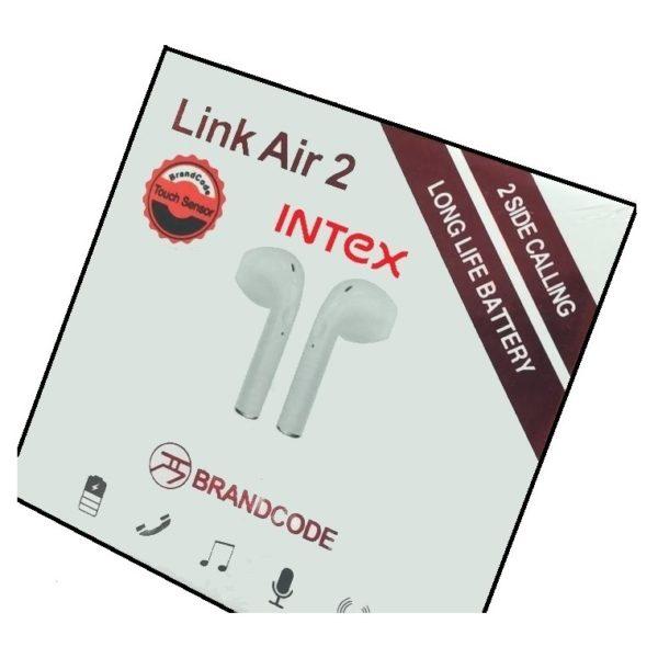 Intex Barcode Lonk Air 2 Ear Bud White