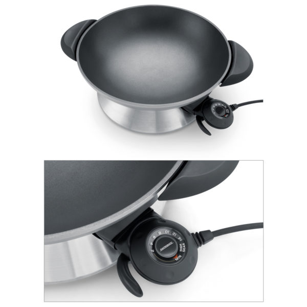 Gastroback Design Advanced Pro Electric Wok 42515