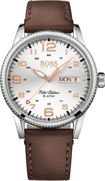 Hugo Boss Mens Pilot Vintage Watch