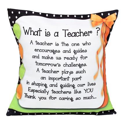 Decorative Cushion Printed Cushion For Teacher