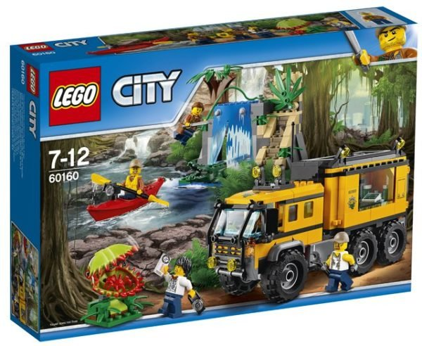 LEGO 60160 Jungle Mobile Lab Toy