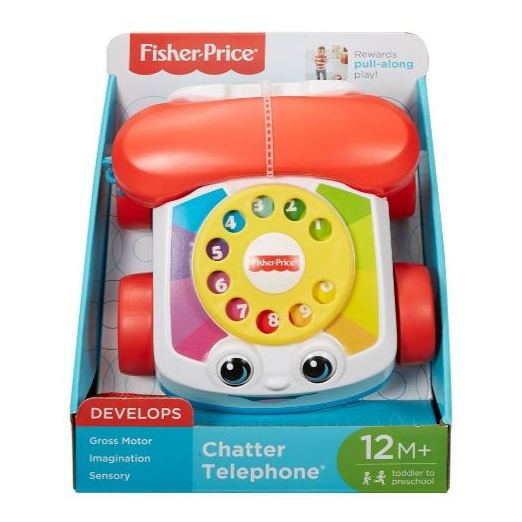Fisher Price Chatter Telephone Pull-Along Toy