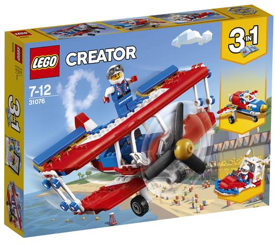 LEGO 31076 Daredevil Stunt Plane Toy