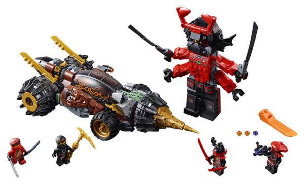LEGO 70669 Cole`s Earth Driller Toy