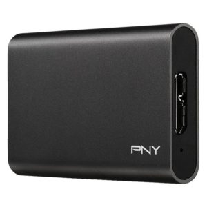 PNY - Elite USB3.1 Gen1 Portable SSD 480GB