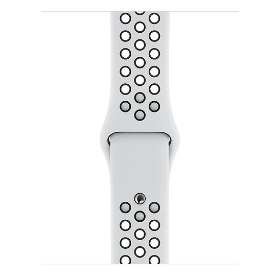 Apple Watch Series 5 GPS 40mm Silver Aluminium Case with Pure Platinum/Black Nike Sport Band
