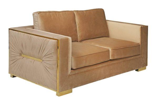 Pan Emirates Welford 2 Seater Sofa Cream