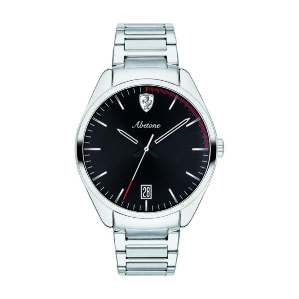 Ferrari 830502 Abetone Quartz Silver Metal Watch Men