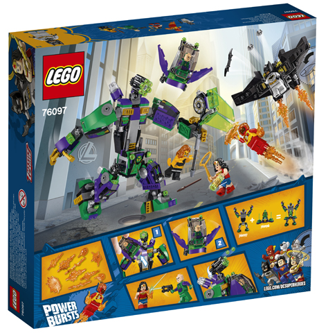 LEGO 76097 Lex Luthor Mecha Takedown Toy