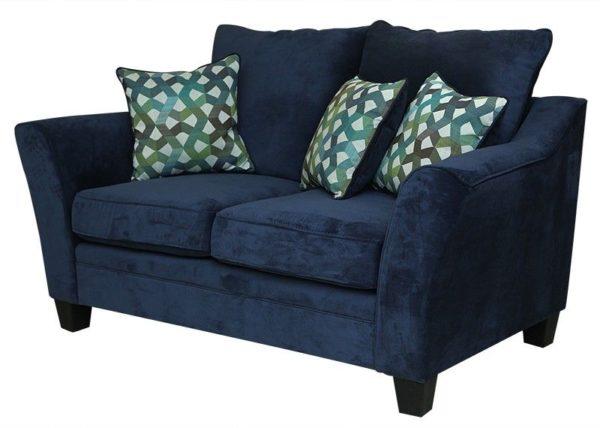 Pan Emirates Midtown 2 Seater Sofa Dark Blue