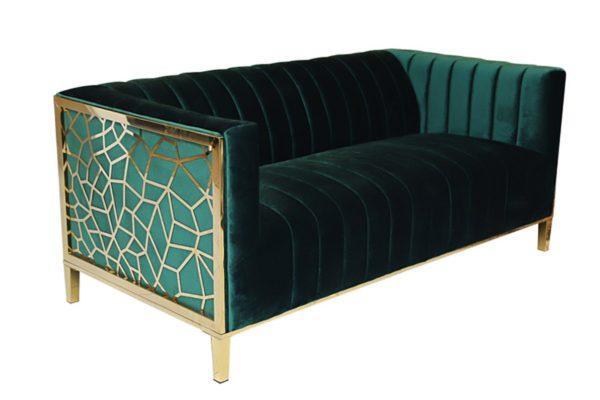 Pan Emirates Sakhalin 2 Seater Sofa Green