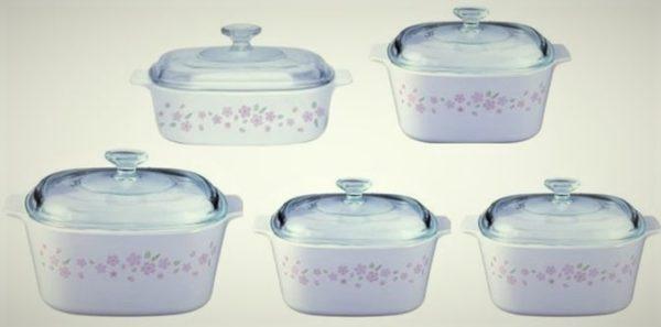 CorningWare Chef 10pcs Classic Set Sakura