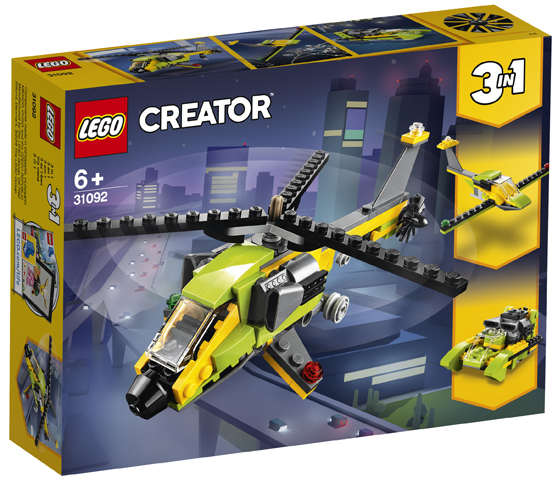 LEGO 31092 Helicopter Adventure Toy