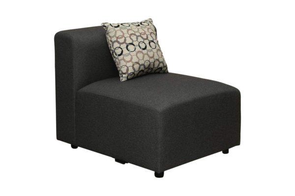 Pan Emirates Messina Armless Chair Grey