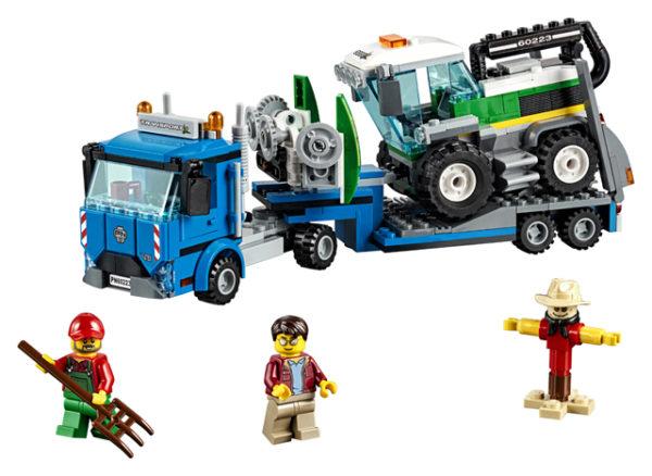 LEGO 60223 Harvester Transport Toy