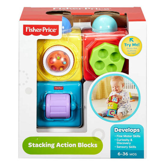 Fisher Price Stacking Action Blocks