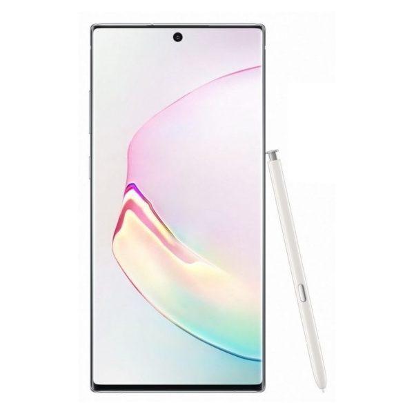 Samsung GalaxyNote10+ 256GB Aura White SM-N975F 4G Dual Sim Smartphone