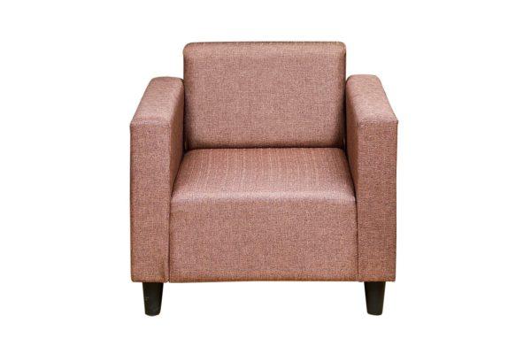 Pan Emirates Federica Single Seater Sofa Brown