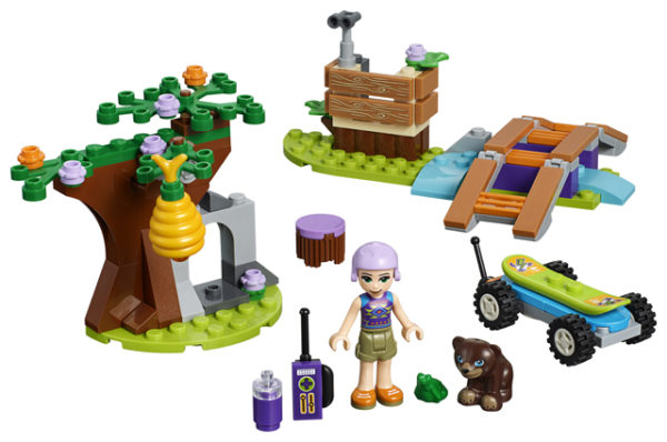 LEGO 41363 Mia's Forest Adventure Toy