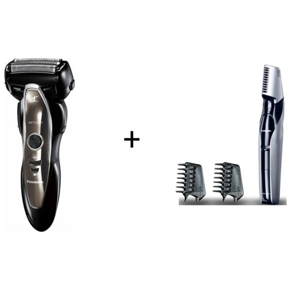 Panasonic ES ST25Men Shaver+ERGK60 I-Shaped Men Trimmer