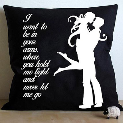 Cushion Printed Mad For Each Other