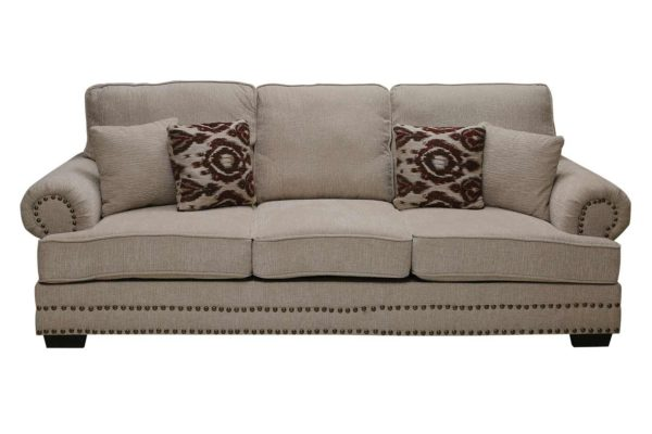 Pan Emirates Josetta (N) 3 Seater Sofa White