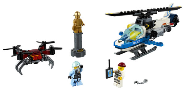LEGO 60207 Sky Police Drone Chase Toy