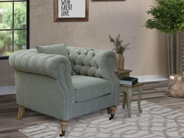 Pan Emirates Octavius Single Seater Sofa Beige