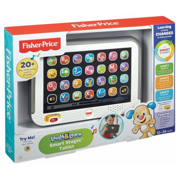 Fisher Price Smart Stages Tablet, Laugh & Learn