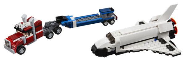 LEGO 31091 Shuttle Transporter Toy