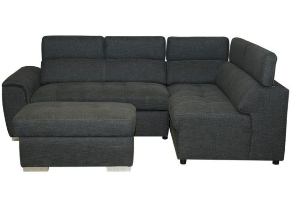 Pan Emirates Ruddy Corner Sofa Set (RHF) Grey