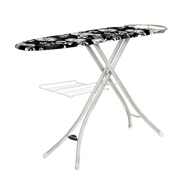 RoyalFord Ironing Board with Steam Iron Rest 122 x 38cm