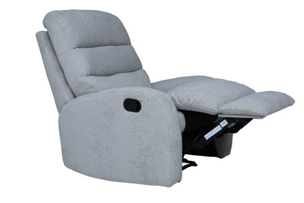 Pan Emirates Agenta Single Seater Recliner Sofa White