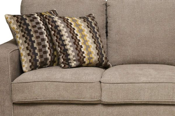 Pan Emirates Tatyana 3 Seater Sofa Cream