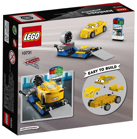 LEGO 10731 Cruz Ramirez Race Simulator Toy
