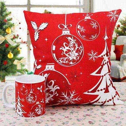 Cushion Printed with Coffee